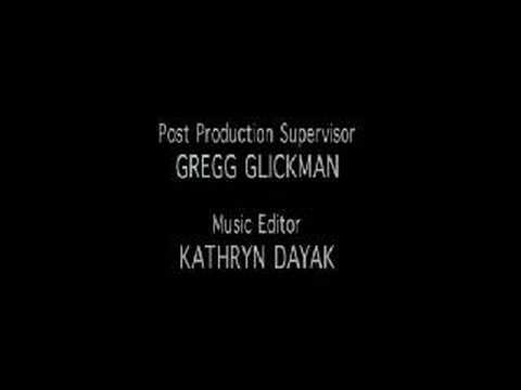 The Sopranos - Ending credits, season 1 episode 12