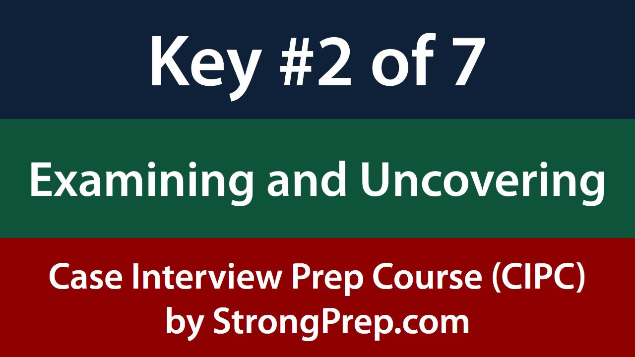 case interview analysis key of from case interview prep case interview analysis key 2 of 7 from case interview prep course