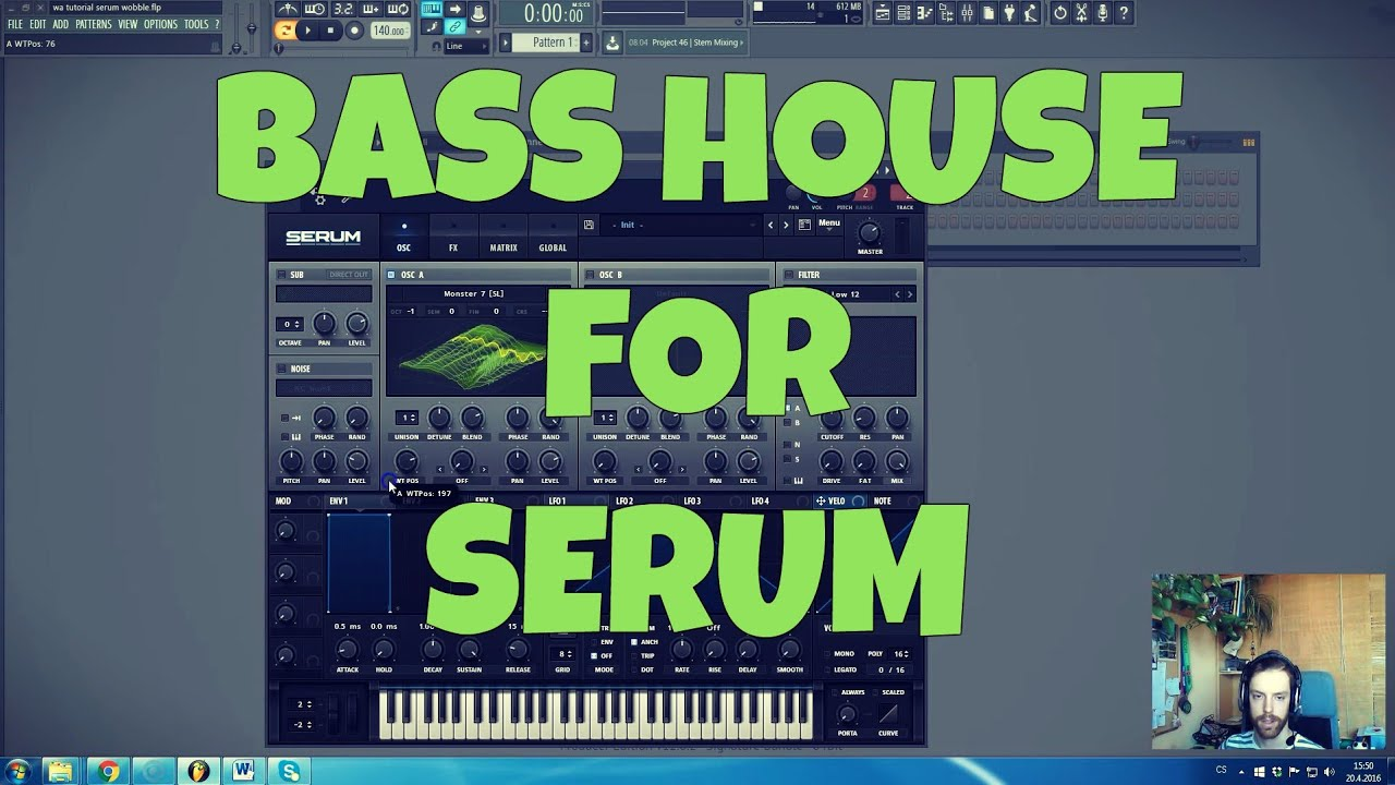 How to EDM: Bass House Patches for Serum FL Studio Tutorial (+ FREE  Presets, FLP)
