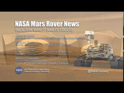 NASA Teleconference - Mars Rover Curiosity Observations, December 8, 2014