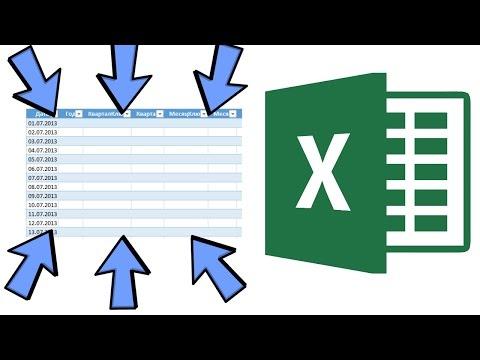 Как делается сводная таблица в Excel?