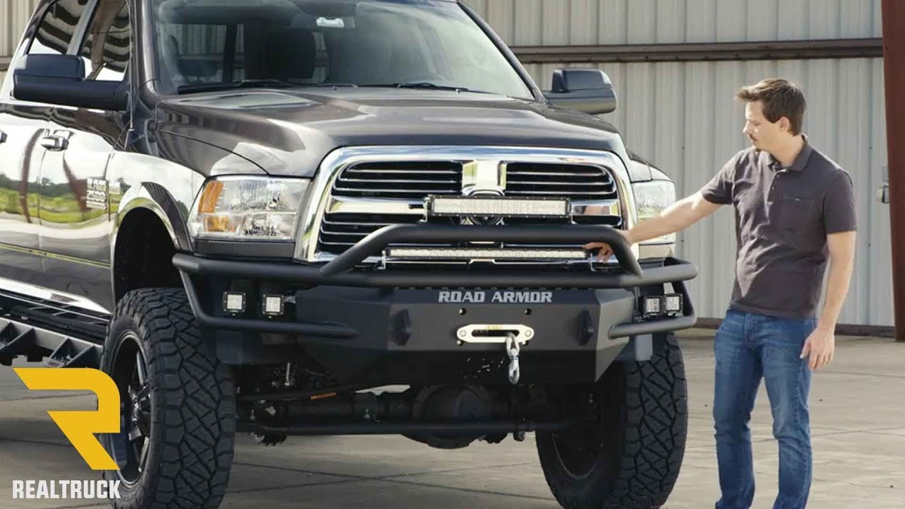 Road Armor Sahara Prerunner Front Bumper Fast Facts - YouTube