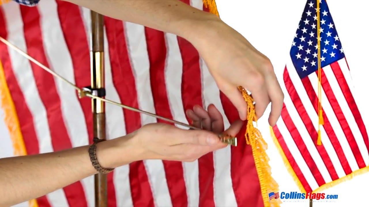 153f37fa70f8 Collins Flags- Flag Spreader - YouTube