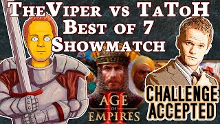 AOE2:DE | TheViper vs TaToH | Best of 7 Showmatch