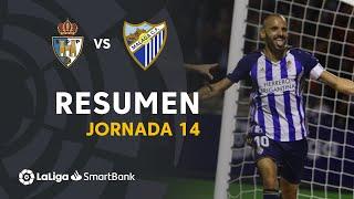 Resumen de SD Ponferradina vs Málaga CF (1-0)