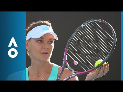 Kristyna Pliskova v Agnieszka Radwanska match highlights (1R) | Australian Open 2018
