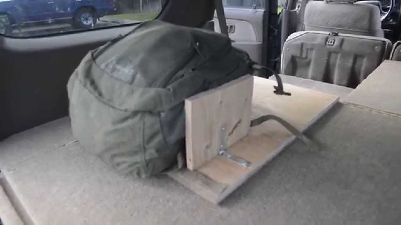 Custom 4runner Storage And Sleeping Area Youtube