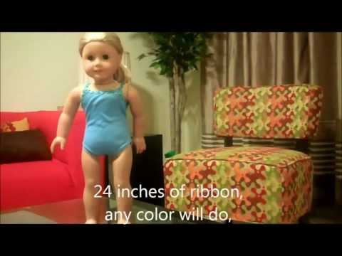 How To Make A No Sew Tutu For Your American Girl Doll