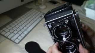 Vintage Minty Mamiya C33 Professional Twin Lens Reflex with 80/2.8 Lens and WLF