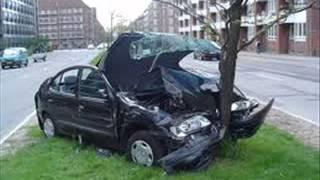 car crashing - sound effect
