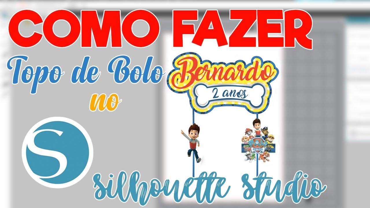 DIY   Como fazer Topo de Bolo Personalizado - YouTube b991000e33