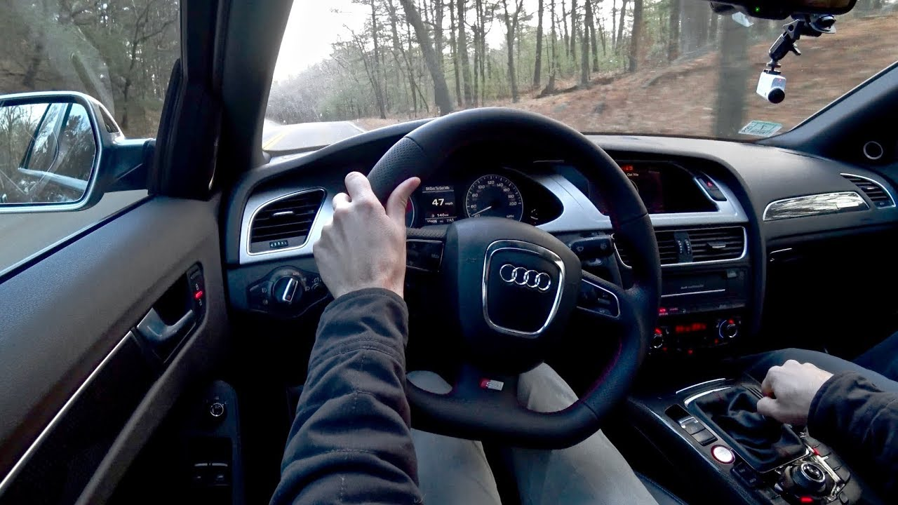 Manual Audi B8 S4 - APR Stage 2 is a Game Changer - YouTube