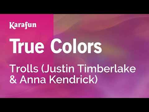 Karaoke True Colors - Trolls *