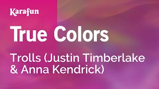 Karaoke True Colors - Justin Timberlake *