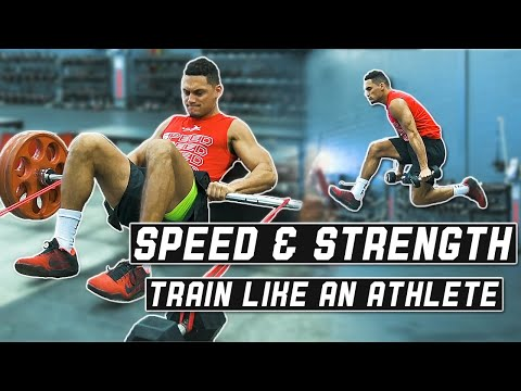 Explosive Speed & Strength Workout To Run Faster & Jump Higher