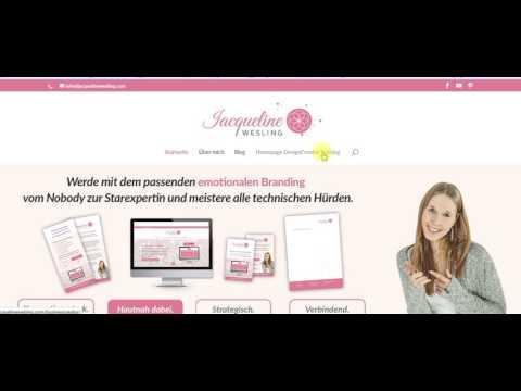 Die Startseite deiner Homepage strukturiert aufbauen