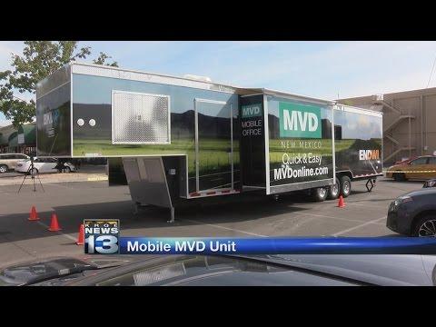 New MVD mobile unit hits Albuquerque streets