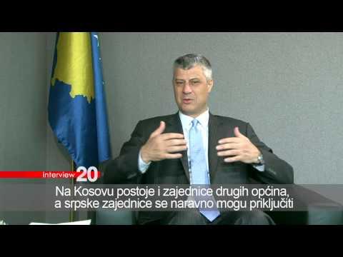 Sanela Prašović Gadžo   Interview 20   Hashim Thaci