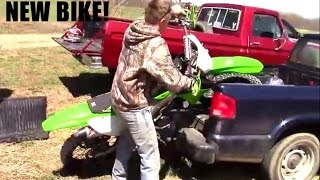 NEW 450 DIRT BIKE FAIL
