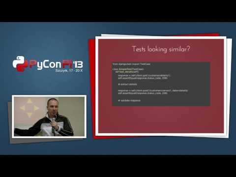 """PyCon PL 2013 """"Zaawansowane testowanie jednostkowe aplikacji Django"""""""