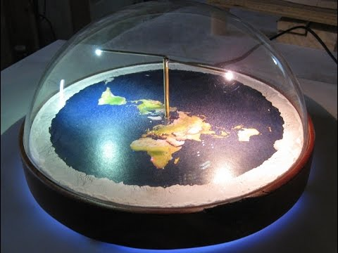 Flat Earth 2017 physical model by Chris Pontius - Mark Sargent ✅
