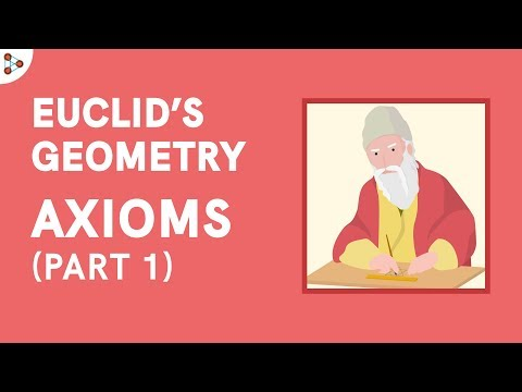 Euclid's Geometry - Axioms - Part 1 - CBSE 9