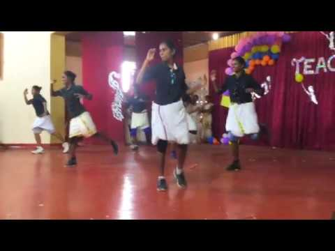 J/Vembadi Girls' High School Teacher's day 2017