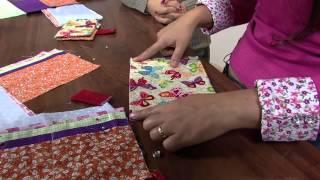 Ana Paula Faria – Carteira de tecido Parte 2/2