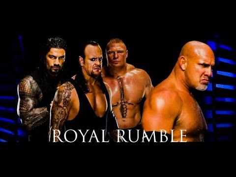 Download Wwe 2020 Undertaker   Roman reigns   Brocklesnar   Goldberg.  Royal rumble match