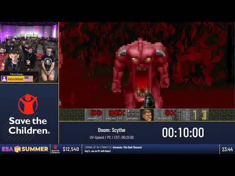 #ESASummer18 Speedruns - Doom: Scythe [UV-Speed] by 4shockblast