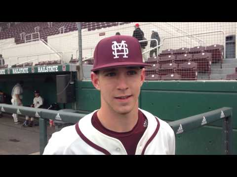 MSU second baseman John Holland