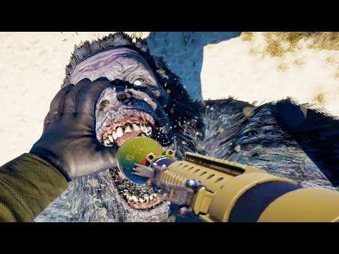 200 Yetis VS RPG - Far Cry 5 Arcade Fun
