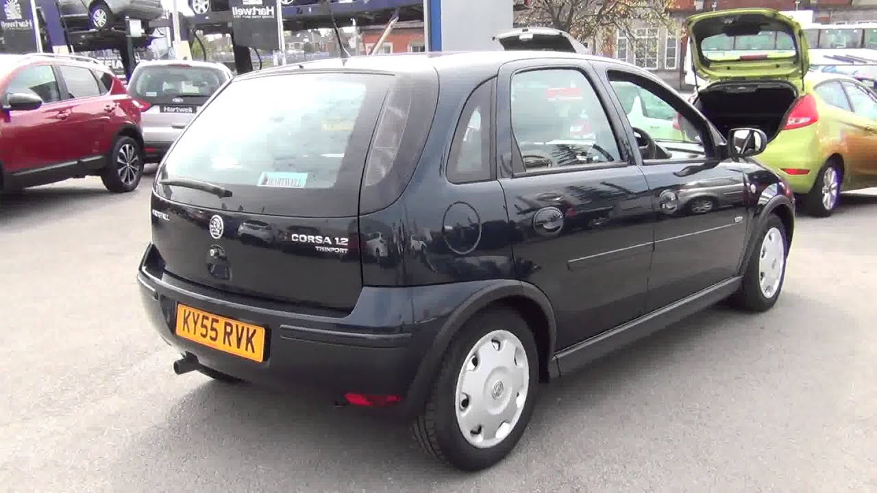 2005 vauxhall corsa design 16v twinport youtube. Black Bedroom Furniture Sets. Home Design Ideas