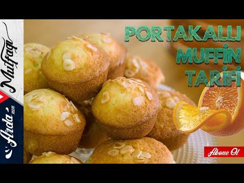 Portakallı Muffin - Arda'nın Mutfağı