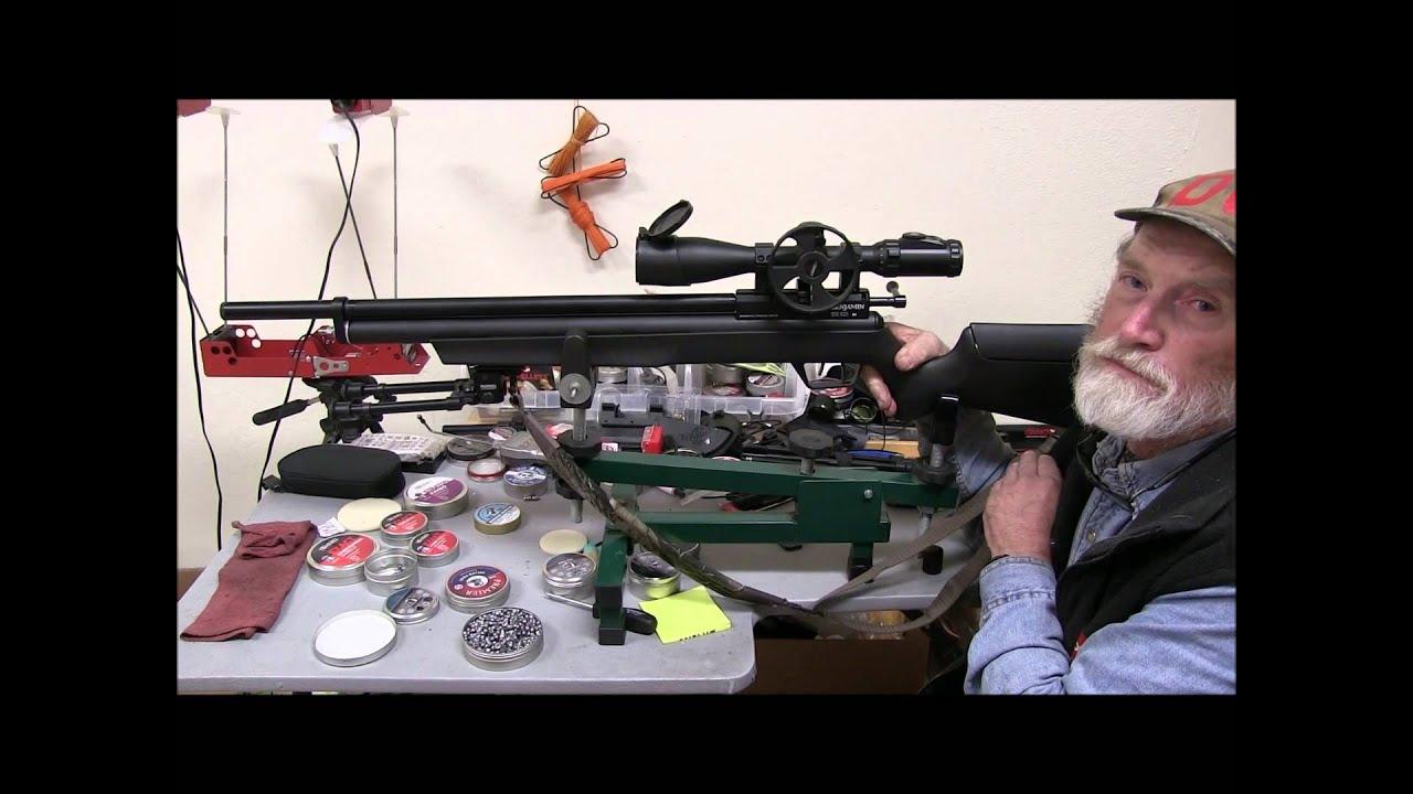 Benjamin Marauder  25 Accuracy Demo with Don Reed of DGS Airguns