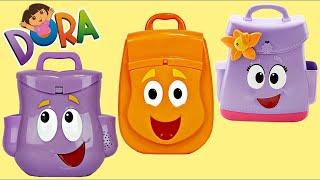 Help Dora The Explorer Open Her Backpack Explorer Deluxe Set