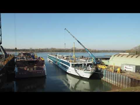 Shipbuilding: AMADEUS Imperial, river cruise ship