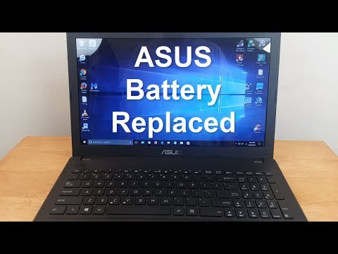 Asus Laptop Battery Removal & ASUS Battery Replacement - ASUS Battery Not Charging - Easy Fix