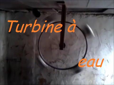 Comment fabriquer une turbine eau bricozer youtube - Fabriquer une horloge a eau ...
