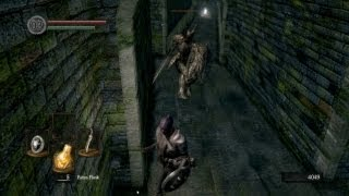 Dark Souls: Undead Burg Black Knight quick and easy kill