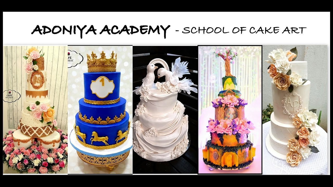 Cake Art Academy Kennesaw : Channel Trailer- Adoniya Academy- School of cake art ...