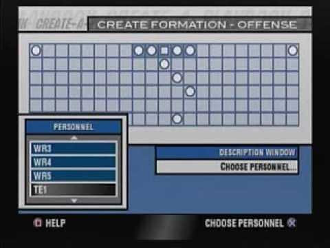Create a Play Melee on John Madden Football