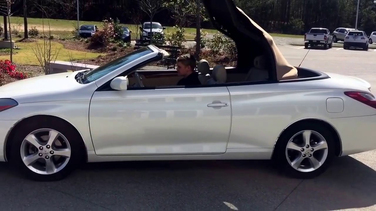 Toyota Solara Sle Convertible Childre Chevrolet Buick