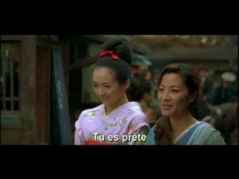 La vidéo Mémoires d'une geisha   bande annonce vost sur L'Internaute poster