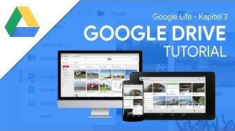 Das Große Tutorial zu Google Drive   mit Google Docs, Tabellen & Präsentationen (Google Life #03)