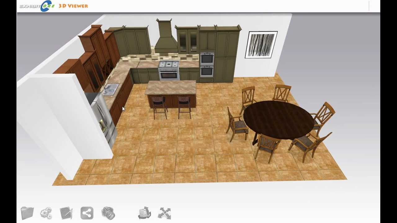 Design a new kitchen with exhibitcore floor planner 3 of 4 for Exhibitcore floor planner
