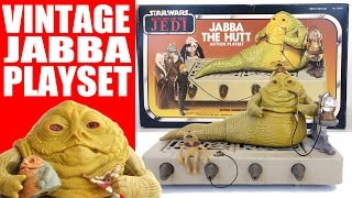 Vintage Jabba the Hutt Action Playset Kenner Star Wars