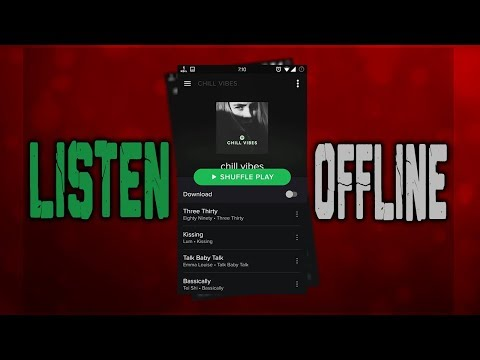 How To Listen To Spotify Offline Without Premium (WORKING 2018)