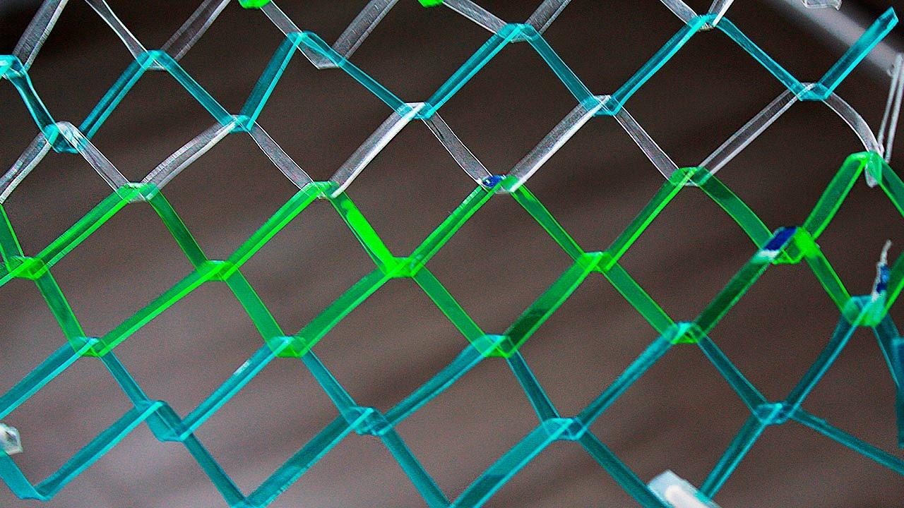 Come fare una rete di bottiglie di plastica idee brillanti youtube