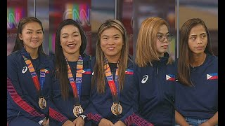 The Source: Jylyn Nicanor, Mika Caballero and the PH Blu Girls